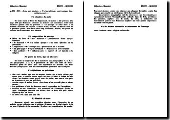 Les Confessions - Jean Jacques Rousseau - Pages 288 à 293