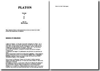 Gorgias ou Sur la Rhétorique - Platon