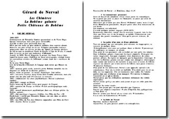 Gérard de Nerval - Les Chimères