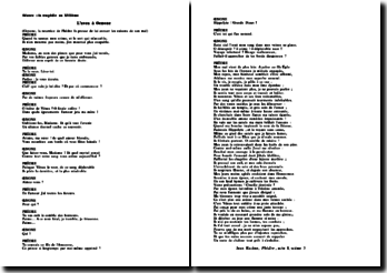 L'aveu de Phèdre a Oenone - Jean Racine, Phèdre, acte I, scène 3