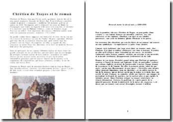 Chrétien de Troyes et le roman