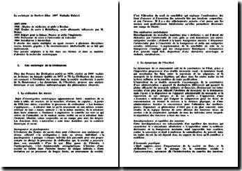 La sociologie de Norbert Elias - N. Heinich