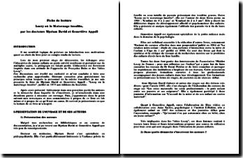 Loczy ou le Maternage insolite - M. David et G. Appell