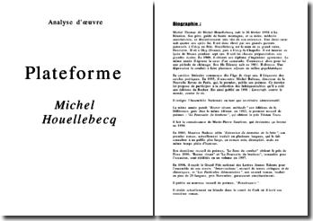 Plateforme - M. Houellebecq