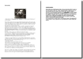 Lambeaux - Charles Juliet - Biographie, résumé et commentaires