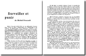 Surveiller et punir - Michel Foucault