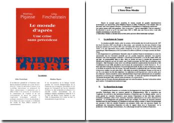 Le Monde d'après - Matthieu Pigasse & Gilles Finchelstein
