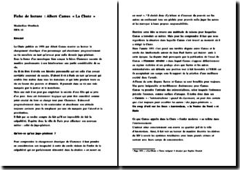 La chute - Camus