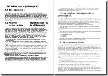 Qu'est-ce que la philosophie?