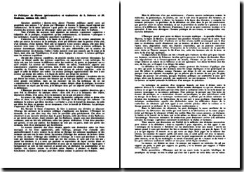 Le Politique de Platon (présentation et traduction de L. Brisson et JF. Pradeau, édition GF, 2003)