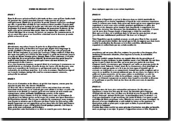 L'ordre du discours (1971) - Foucault