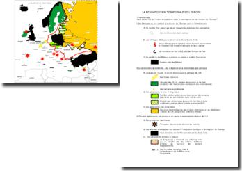 La recomposition territoriale en Europe