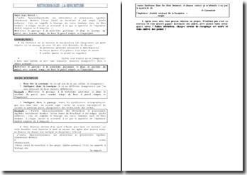 Méthodologie de réecriture pour le brevet