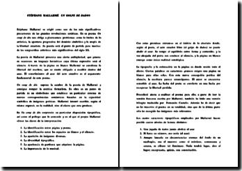 Stéphane Mallarmé - Un golpe de dados