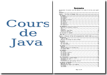 Cours de langage Java 2