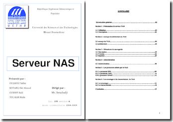 Serveur NAS (Network Attached Storage)
