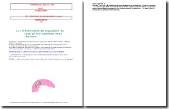 Corrigé du BAC S - SVT - Pondichery - Q1 : Restitution des connaissances
