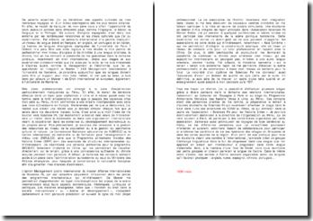 Modèle de lettre pour Sciences Po