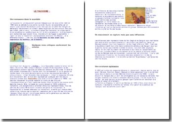 Exposé sur le Fauvisme - naissance, critiques et influences