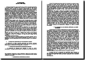 La dangerosité en droit pénal - droit pénal 2006 à l'ENM