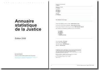Les statistiques de la justice 2009