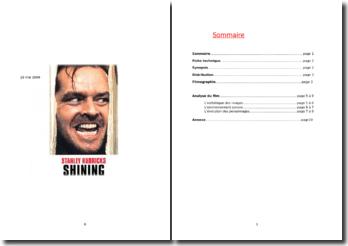 Shining, Stanley Kubrick