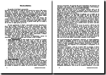 Actualité de droit des contrats 2008/2009