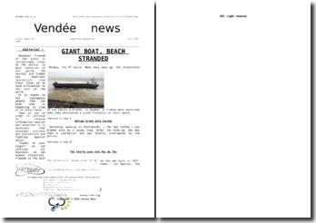 Réalisation d'une première page de journal en cours d'anglais