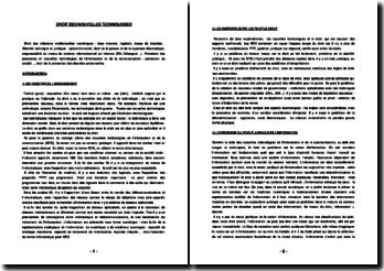 Droit des nouvelles technologies (version 2)