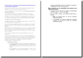 La controverse sur la protection du logiciel par le droit d'auteur et les brevetabilité du logiciel