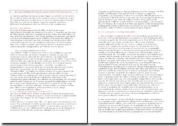 Le statut juridique des agents royaux, officiers et commissaires