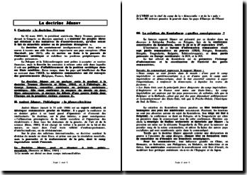 La doctrine Jdanov (et le contexte de la Guerre froide)