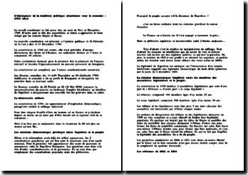 L'émergence de la tradition politique césarienne sous le consulat : 1799-1814