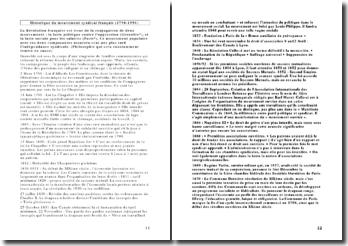 Historique du mouvement syndical français (1790-1990)