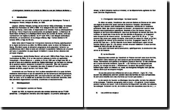 L'immigration italienne en Lorraine au début du XXème siècle vue par l'évêque de Nancy